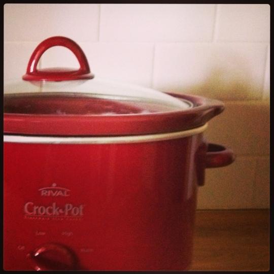 Red Crockpot