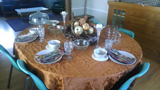 Thanksgiving Table Attempt 3